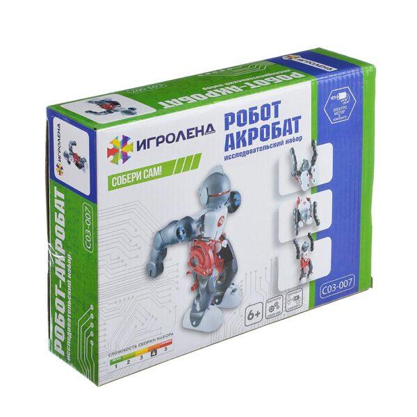 механический конструктор науки с буки: робот-акробат.
