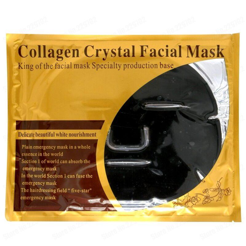 коллагеновая маска collagen crystal facial mask (black)