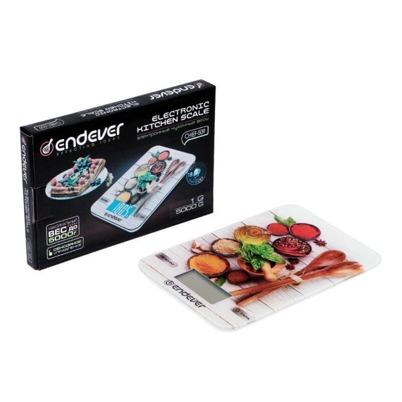 купить кухонные весы endever chief-509 в г. москва.