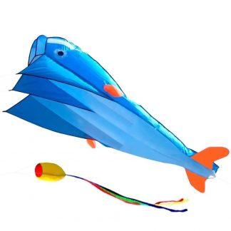 воздушный змей bradex «касатка». цвет: белый, голубой