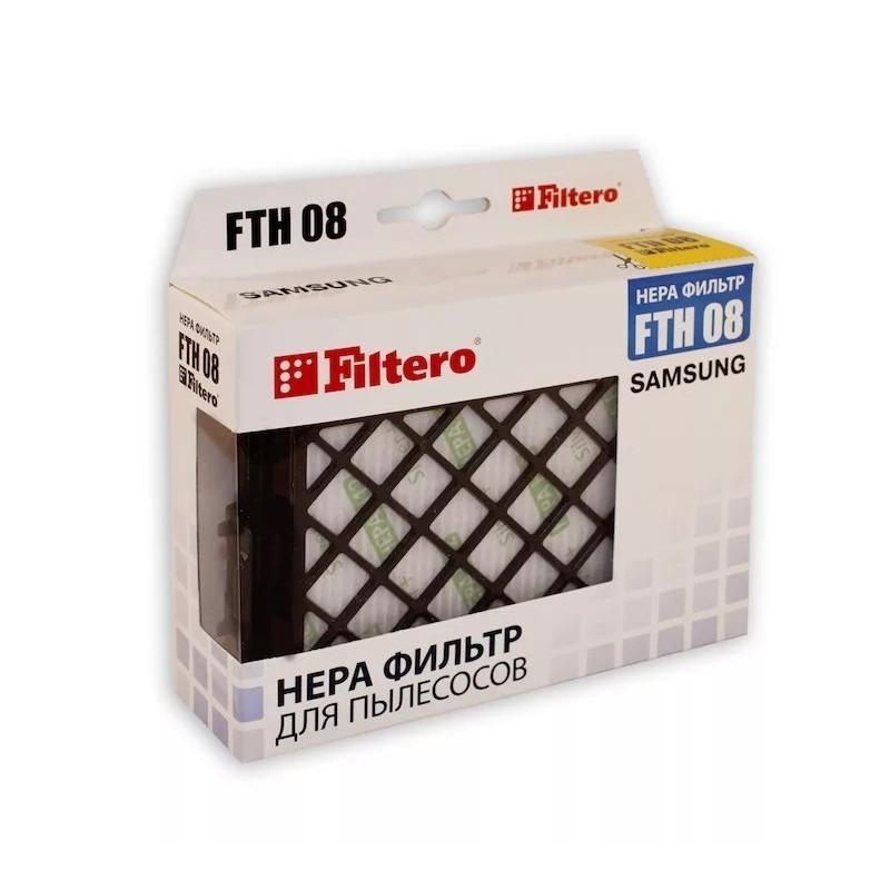 hepa фильтр filtero fth 08 для пылесосов samsung