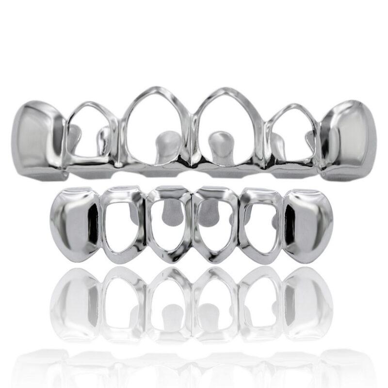 грилзы, классические, серебро (349061884): цена.