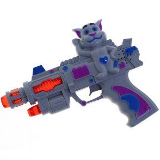 детский пистолет с музыкальным сопровождением.
