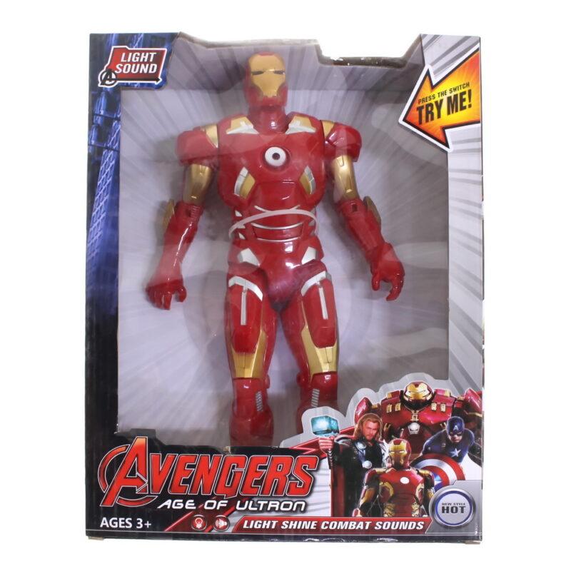 игрушка из серии мстители железный человек.
