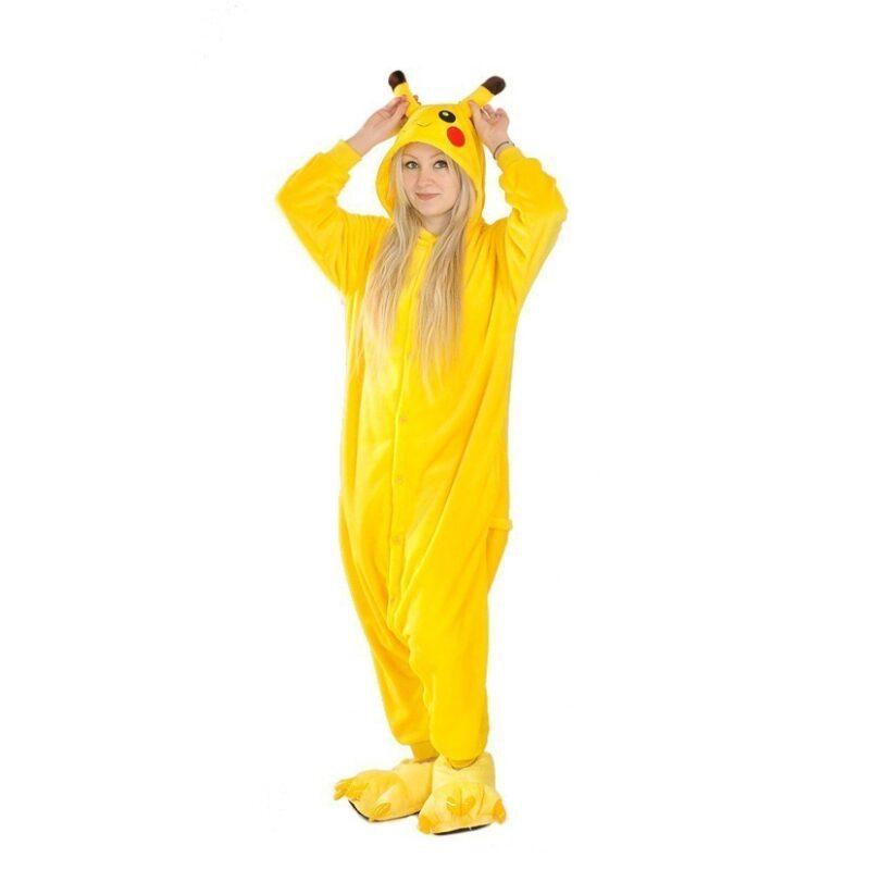 пижама кигуруми пикачу, взрослый, размер xl в москве.