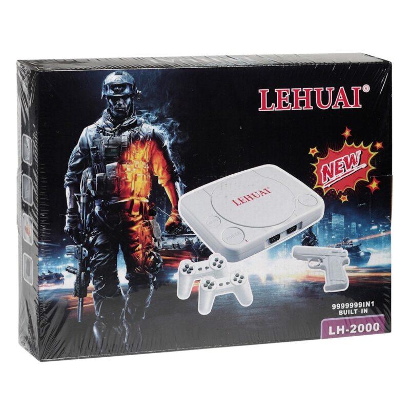 игровая приставка 8 bit tv game lehuai с пистолетом.