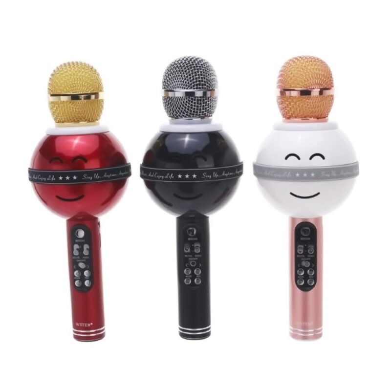 микрофон караоке ws - 878, цвет микс   id20295461