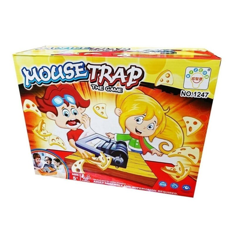 игра настольная - mouse trap (мышеловка).