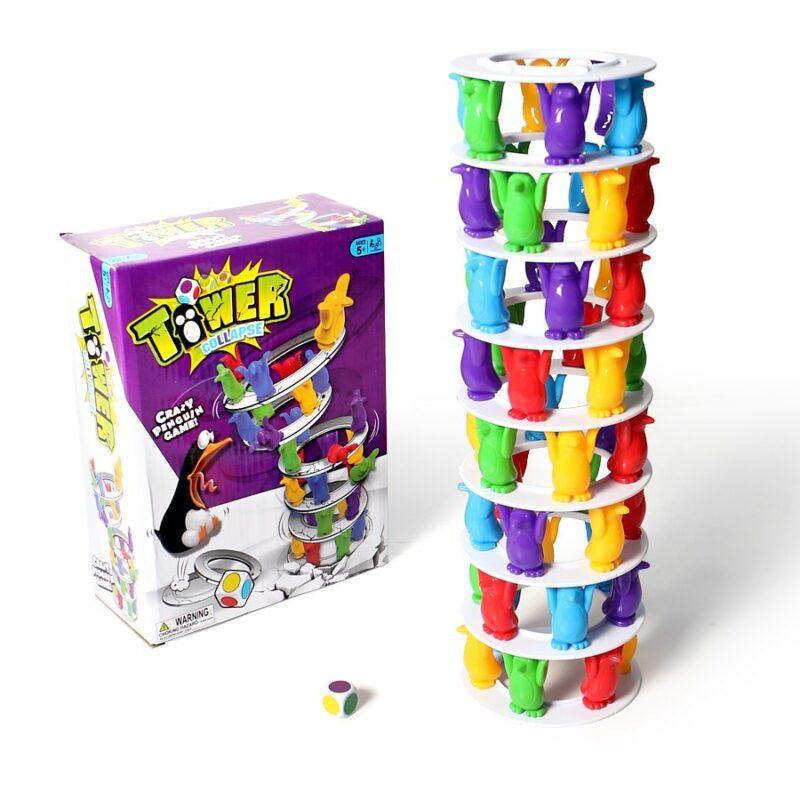 игра настольная игра падающая башня (tower.)