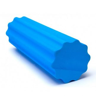 """валик для фитнеса массажный """"роллер"""", цвет: синий"""
