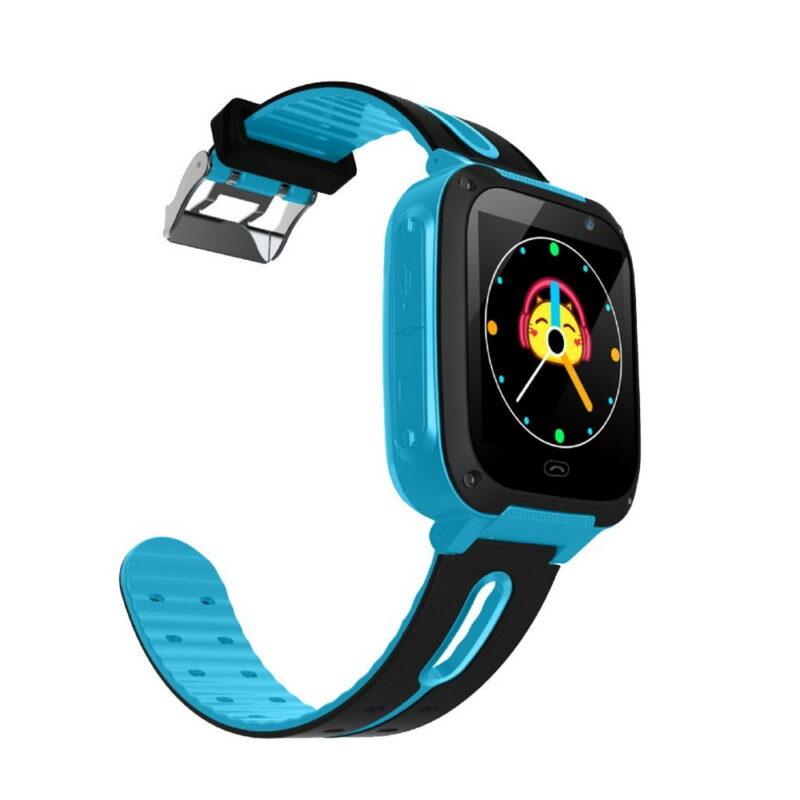 умные детские часы smart baby watch g100 голубые