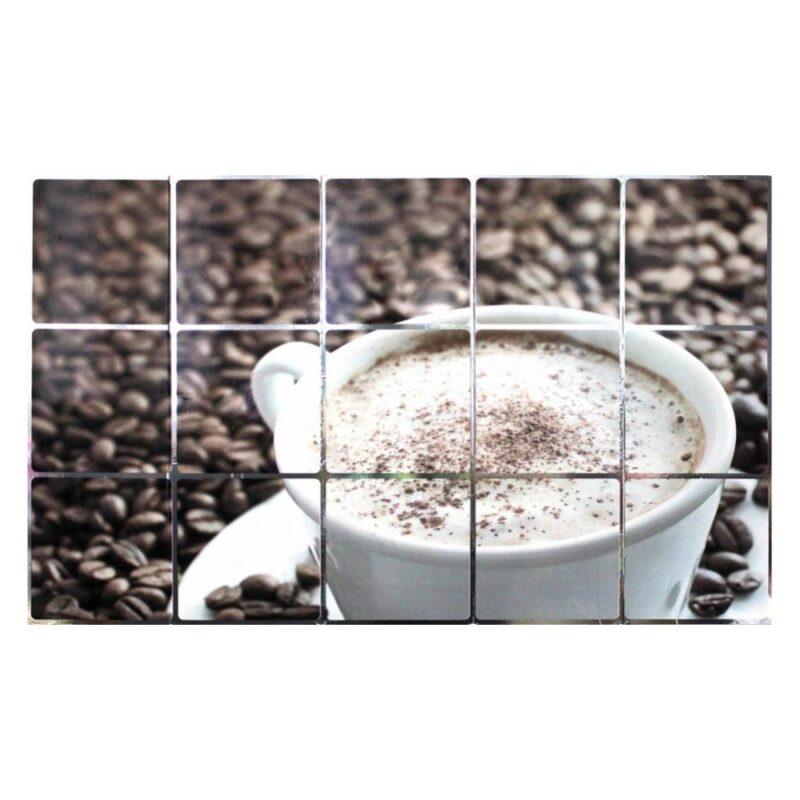 экран защитный кухонный «кофе»