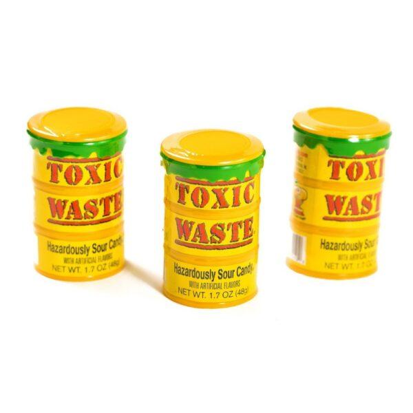 самые кислые конфеты в мире- toxic waste red, 48 г