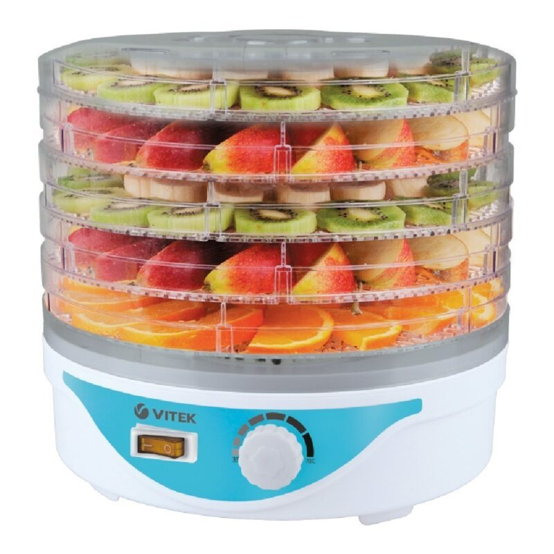 сушилка для овощей и фруктов vitek 5055(w) vitek.