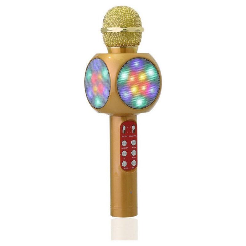 колонка с функцией микрофона караоке wster.