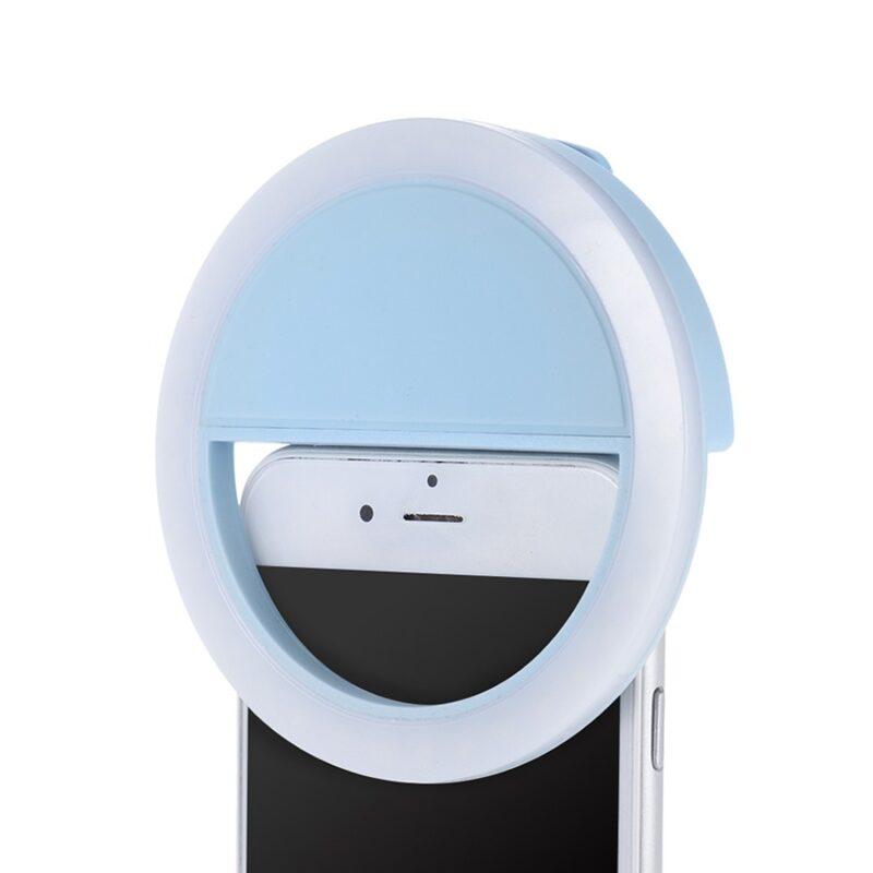 всё для сэлфи: светодиодное кольцо для селфи selfie.
