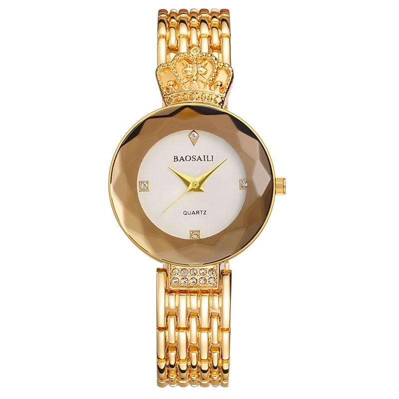 купить модные часы с короной baosaili, серебро — от.