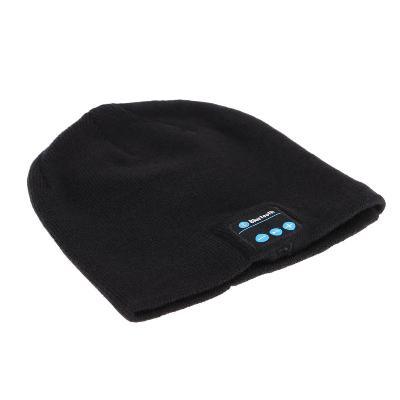 bluetooth шапка, черная