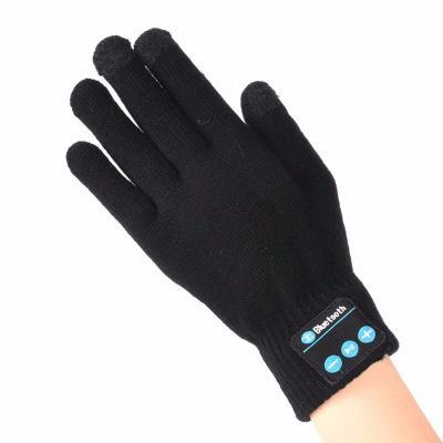 bluetooth перчатки с гарнитурой hi call черные купить.