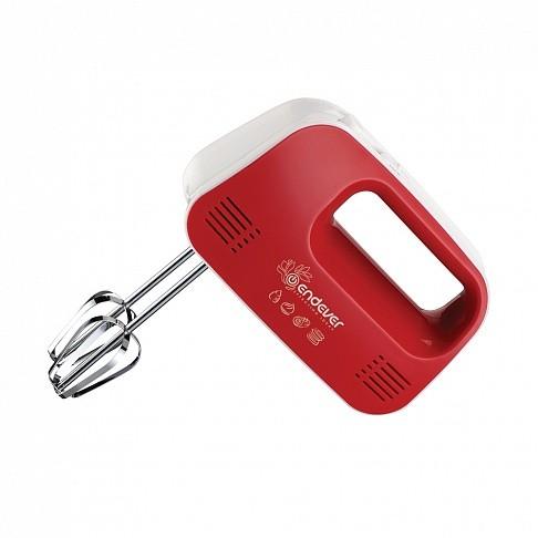 миксер endever sigma 04 ручной белый и красный.