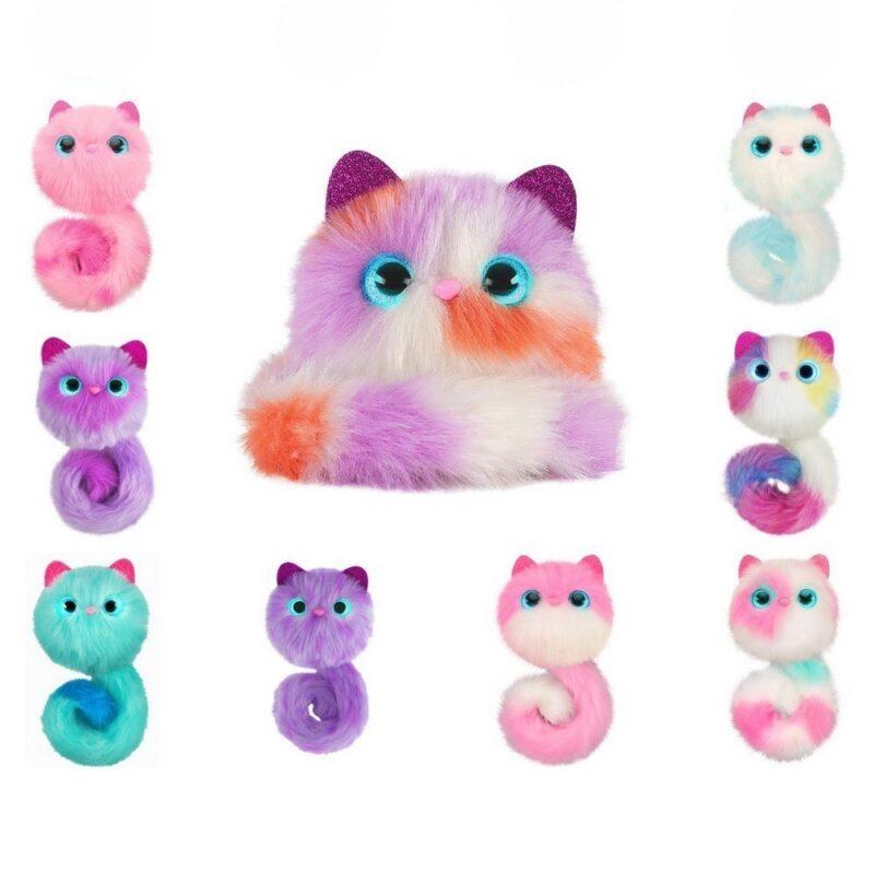 pomsies, купить игрушку котенок помси.