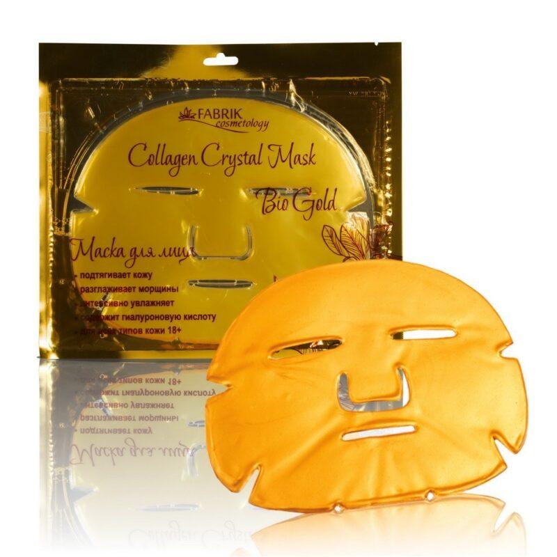 коллагеновая маска для лица crystal collagen gold.