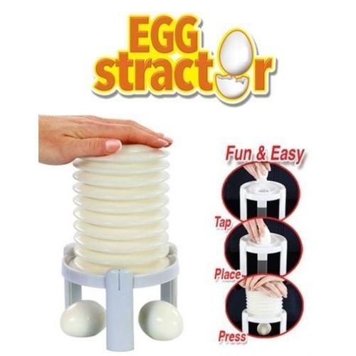 очиститель вареных яиц в одно нажатие eggstractor.