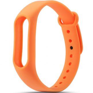 браслет для фитнес трекера, оранжевый gloryonika