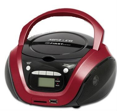 магнитолы cd/usb first 1154-3-re red, цена 2 850 руб..