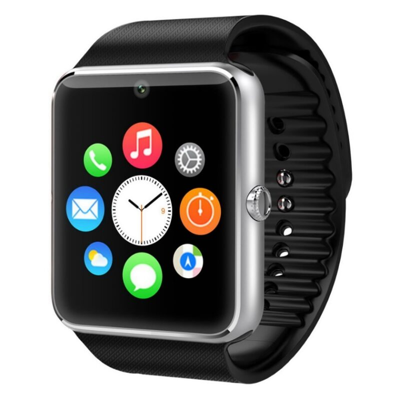 купить часы carcam smart watch gt08 silver