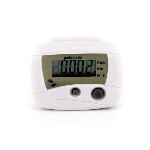 электронный шагомер - белый, цена: 350.00 руб.