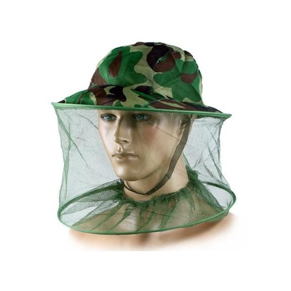 антимоскитная камуфляжная шляпа - 100% защита