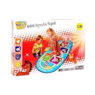 игровой музыкальный коврик animal hopscotch playmat