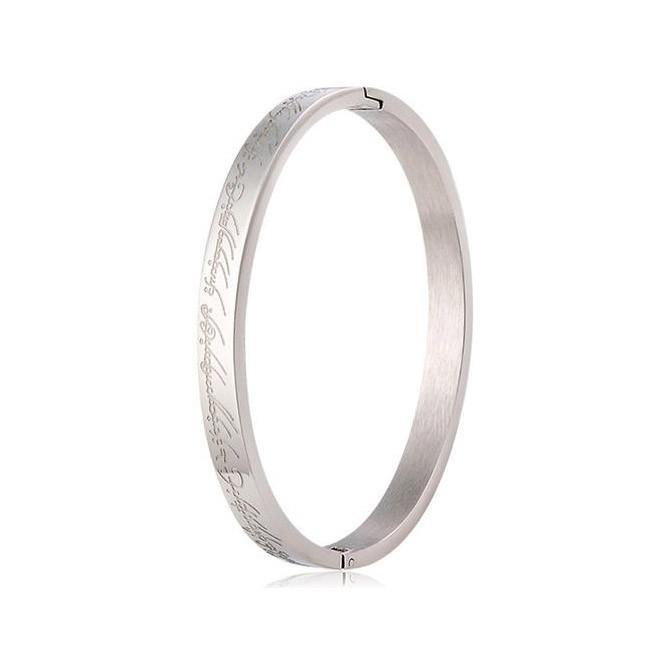 браслет с эльфийскими письменами - размер l, арт.