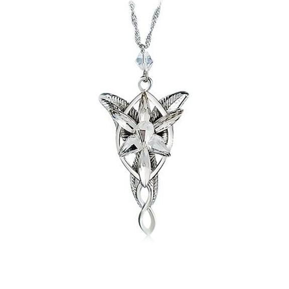 кулон арвен серебро полноразмерный - подвеска.