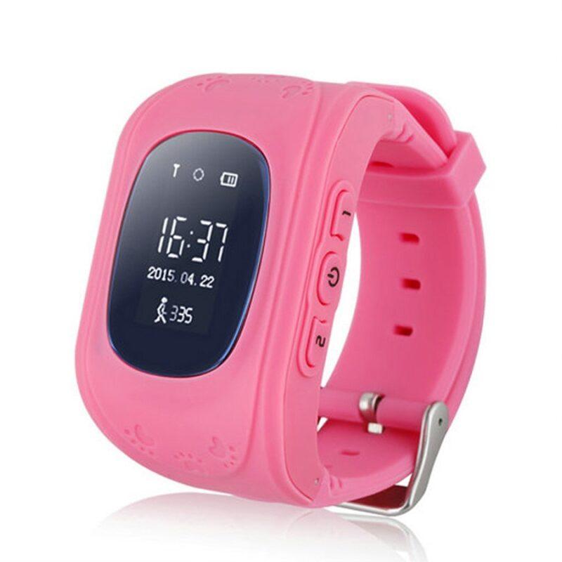 детские часы-телефон с gps-трекером smart baby.