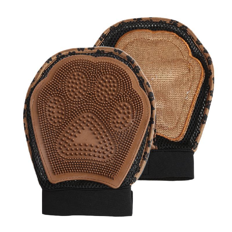 варежка для груминга 3 в 1 grooming glove лапка.