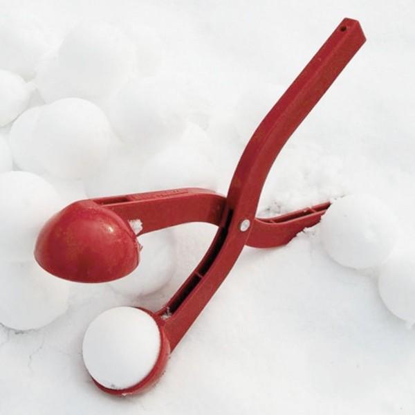 снежколеп - метатель snowball thrower красный
