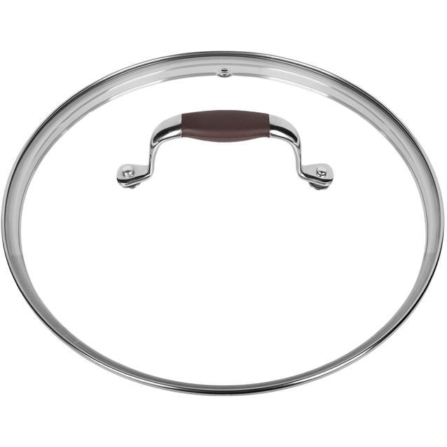 крышка rondell rda-534 (26 см стекло) mocco.