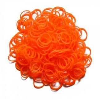 набор ароматизированных резинок - 600 шт, оранжевый