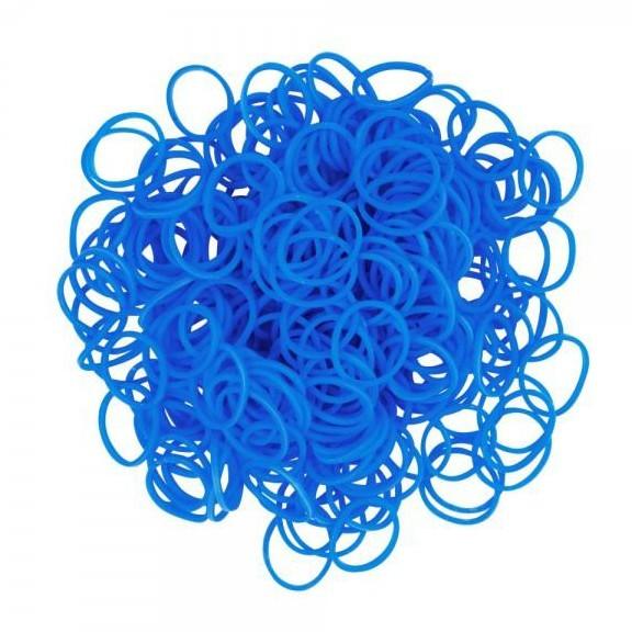 набор ароматизированных резинок - 600 шт, синий.