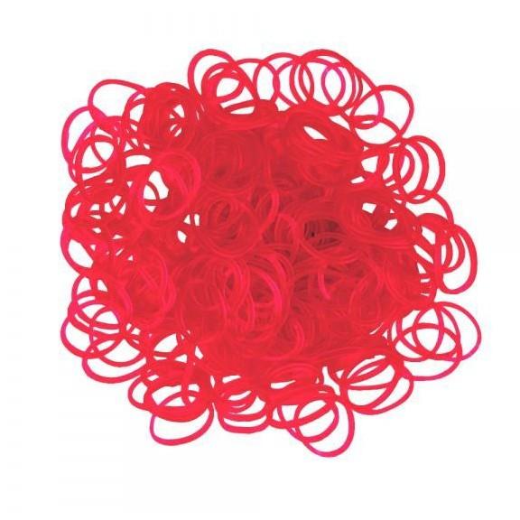 набор ароматизированных резинок - 600 шт, красный.