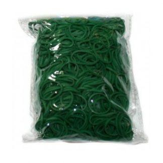 набор резинок rubber band - 600 шт, бирюзовый за 75