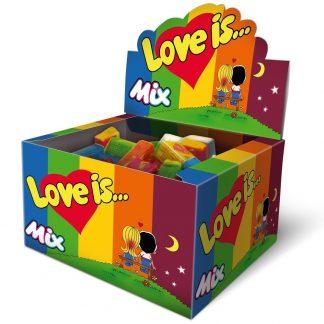 купить жевательная резинка love is микс 100 шт. по.