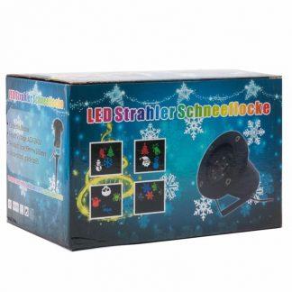 лазерный проектор с эффектом цветомузыки.