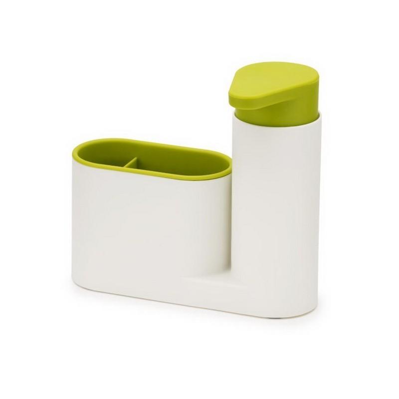 органайзер для раковины с дозатором для мыла.