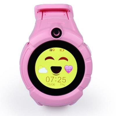 q610 детские умные часы с gps трекером smart.