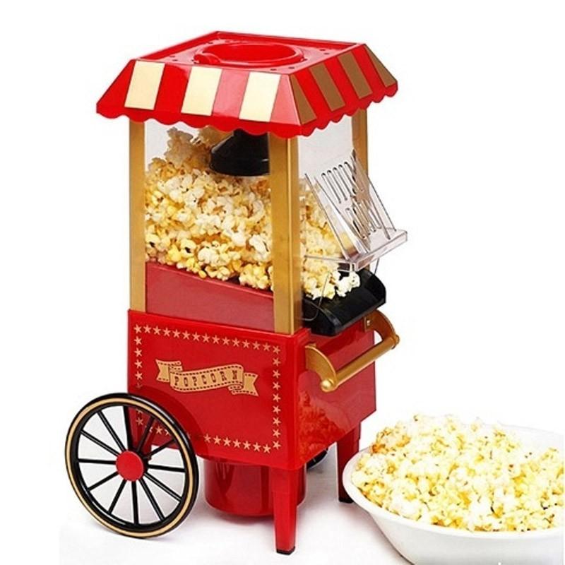 аппарат для приготовления попкорна ретро - купить.