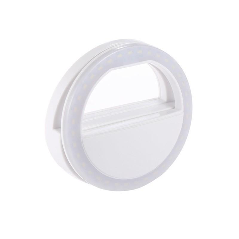 селфи кольцо selfie ring light от usb белое купить.