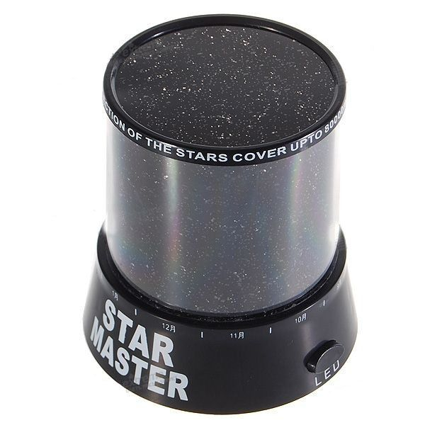 купить ночник-проектор звездного неба star master.